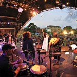 Parramatta Oval Sydney Festival 2012